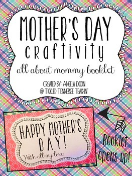 ***FREEBIE*** Mother's Day Craftivity
