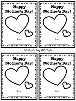 """FREEBIE! Mother's Day Gift Tags and """"Rock"""" Cards"""