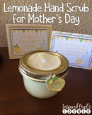 FREEBIE Mother's Day Lemonade Hand Scrub Labels and Cards