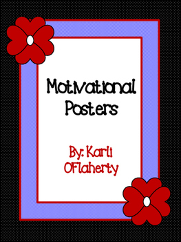FREEBIE! Motivational Posters