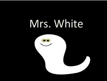 FREEBIE!!  Mrs. White