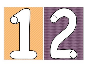 **FREEBIE** Multi-Purpose Counting Cards  0 to 9