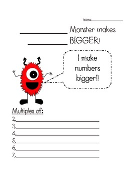 FREEBIE~ Multiple Monster