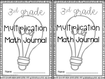 FREEBIE Multiplication Math Journal Error Analysis and Problem Solving