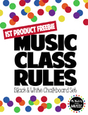 FREEBIE Music Classroom Rules