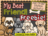 ABC Order Activity FREEBIE! (My Best Friend!) Literacy Station