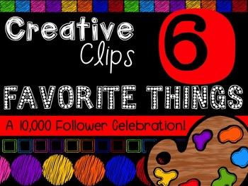 FREEBIE! My Favorite Things #6 {Creative Clips Digital Clipart}