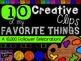 FREEBIE! My Favorite Things #9 {Creative Clips Digital Clipart}