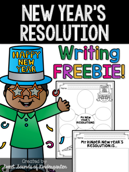 New Year's Resolution FREEBIE!