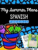 FREEBIE - My Summer Plans {Spanish}