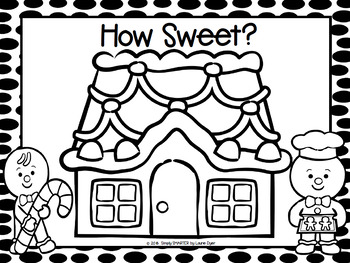 FREEBIE:  NO PREP Gingerbread Counting Game