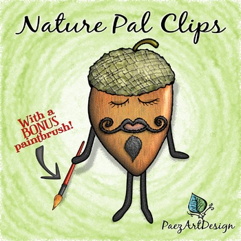 FREEBIE | Nature Pal: Artistic Acorn {PaezArtDesign}
