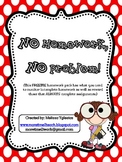 FREEBIE: No Homework, No Problem