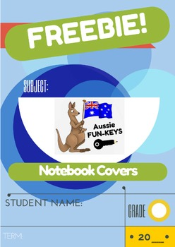 FREEBIE Notebook Covers