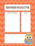 FREEBIE- November Newsletter