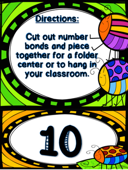 Number Bond Sums to 10