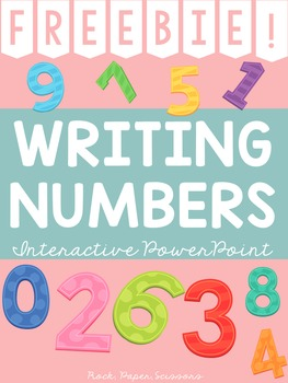 FREEBIE! Number Formation 0 -10 PowerPoint