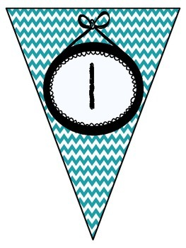 FREEBIE- Number Line- Teal