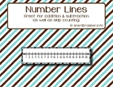 Number Lines | Cards | Math Support