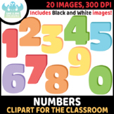 FREEBIE - Numbers Clipart (Lime and Kiwi Designs)