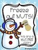 Nut Allergy Monthly Themed Signs Freebie