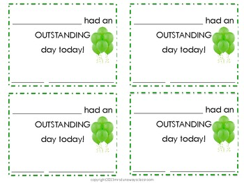 FREEBIE: OUTSTANDING DAY PRINTABLE