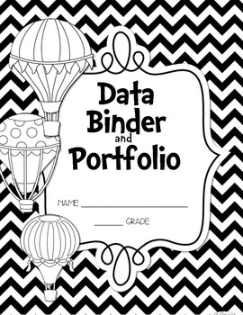 FREEBIE Oh, the Places You'll Go! Data Binder/Portfolio Starter Kit