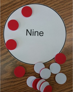 FREEBIE! One to One Correspondence + Fine Motor