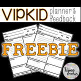 FREEBIE: VIPKID Planner & Feedback Form