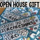 FREEBIE Open House water bottle gift tag for parents