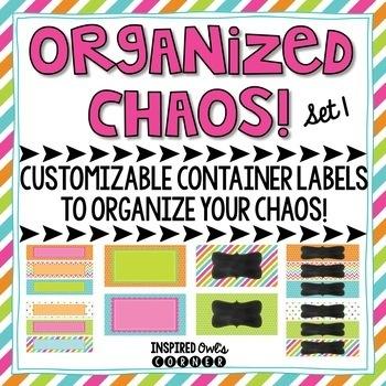 Editable Drawer Labels {Set 1}