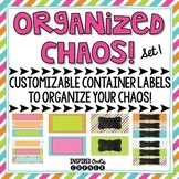 Drawer Labels Editable - Set 1