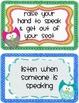 Owl Classroom Rules *Freebie*
