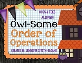 FREE Order of Operations Matching Game (with Exponents) | Math Activity