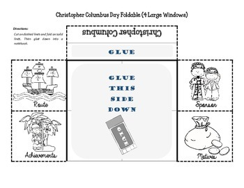 PDF Christopher Columbus October 12th Mini Set