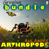 Animal Classification All about Arthropods Growing BUNDLE
