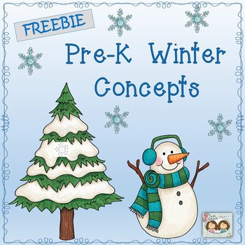 FREEBIE: PRE-K WINTER CONCEPTS