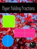 FREEBIE! Paper Folding Fractions
