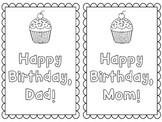FREEBIE: Parent Birthday Cards