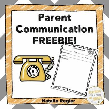 FREEBIE! Parent Communication Templates!