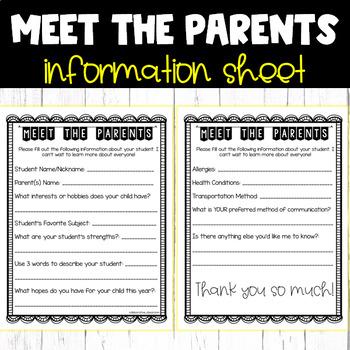 FREEBIE: Parent Survey
