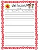 FREEBIE*** Parent Teacher Conference Sign In Sheet Color and Black&White