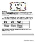 FREEBIE Parent/Teacher Conference Form-EDITABLE