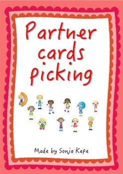 FREEBIE - Partner cards picking
