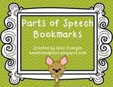 FREEBIE: Parts of Speech Bookmarks
