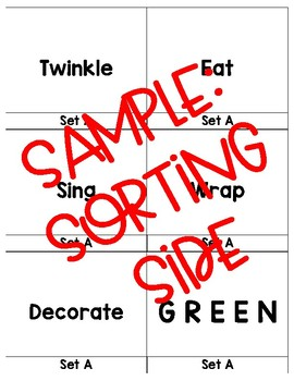 FREEBIE-Parts of Speech Word Puzzles-Christmas themed