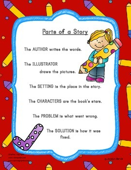 FREEBIE Parts of a Story Chart