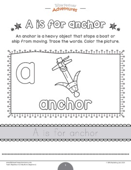 FREEBIE: Paul's Shipwreck activity pack for kids ages 3-5