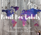 FREEBIE: Pencil Box Group Labels