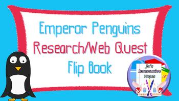 FREEBIE Penguin Awareness Day (January 20th) Research Flip Book